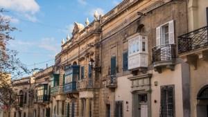 Streets in Rabat, Malta
