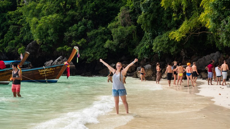 2 Days in Koh Phi Phi, Thailand: Tours, Bars & The Village | almostginger.com