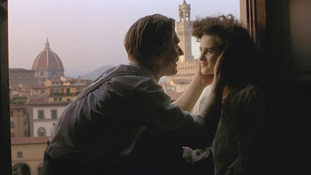 A Room with a View, one of the top films set in Italy