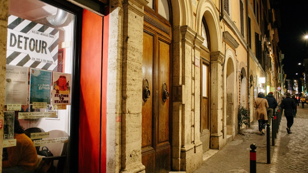 Detour Cinema, one of the Best Arthouse/Independent Cinemas in Rome, Italy