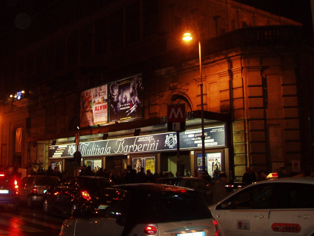 Multisala Barberini, one of the Best Arthouse/Independent Cinemas in Rome, Italy