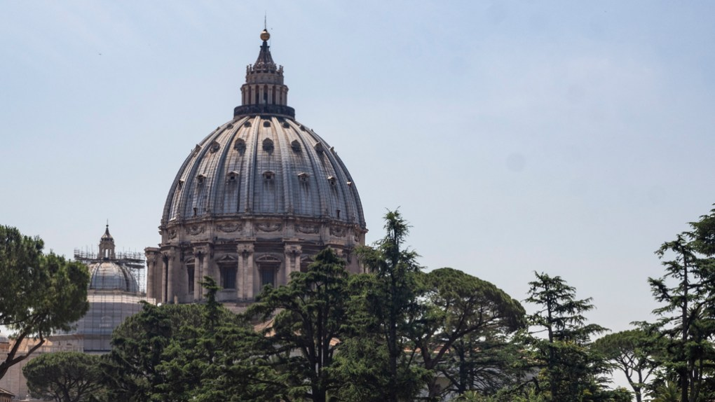 St Peter's Basilica in Vatican City, a Roman Holiday Filming Location