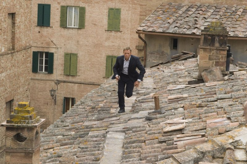 Quantum of Solace, one of the top films set in Italy