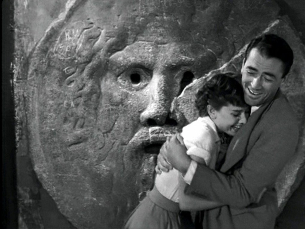 Still from Roman Holiday, a Hollywood film location in Rome, Italy