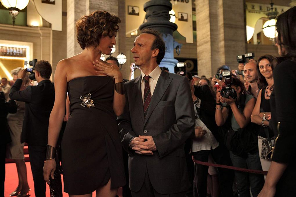 Leopoldo attends a premiere at The Space Moderno in To Rome with Love (2012)