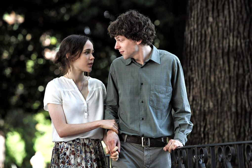 Monica and Jack walk through Villa Borghese in To Rome with Love (2012)