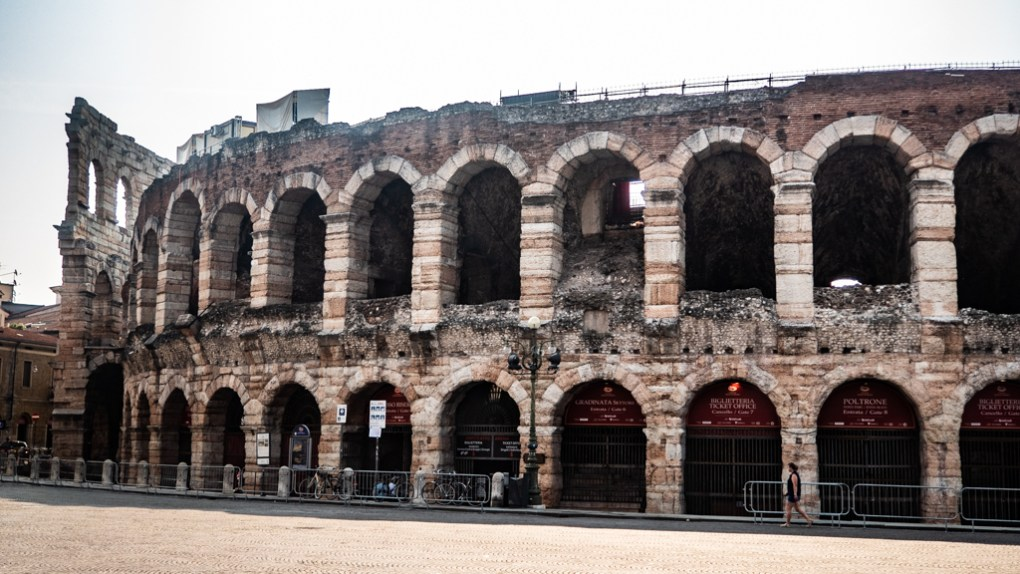 Verona Arena in Verona, Italy where to spend 24 hours in Verona