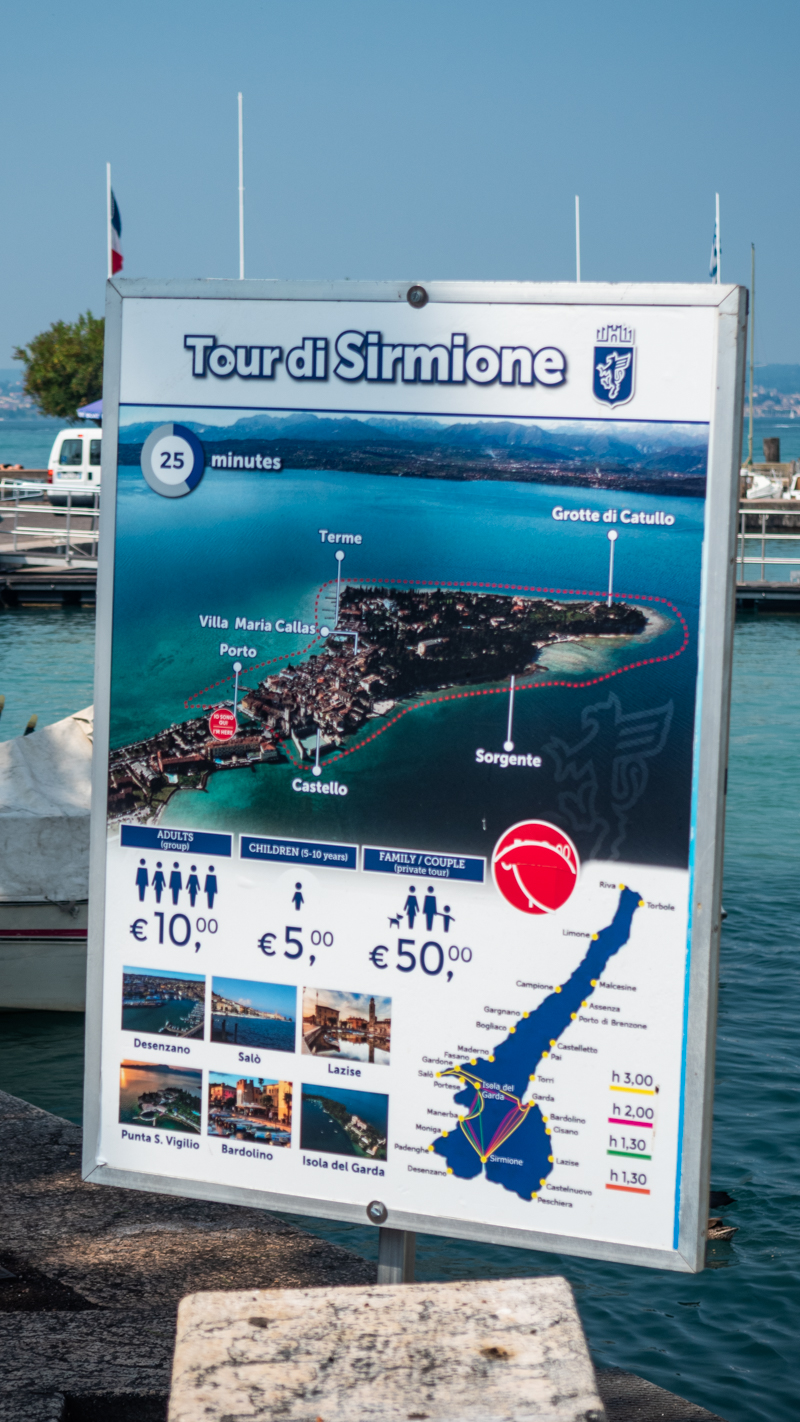 SirmioneBoats boat tours on Lake Garda, Italy