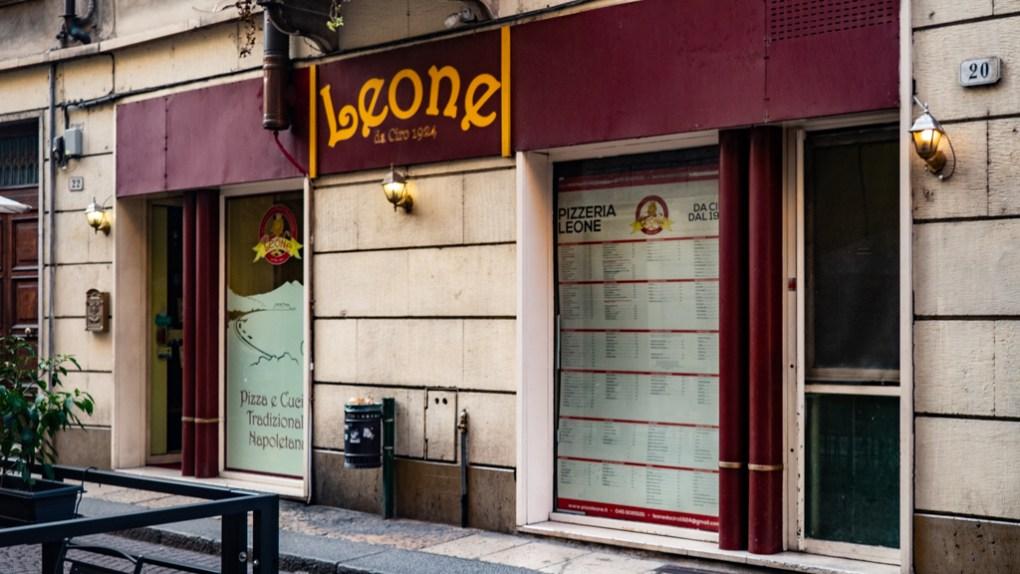 Leone Ciro1924 Pizzeria in Verona, Italy, 24 hours in Verona