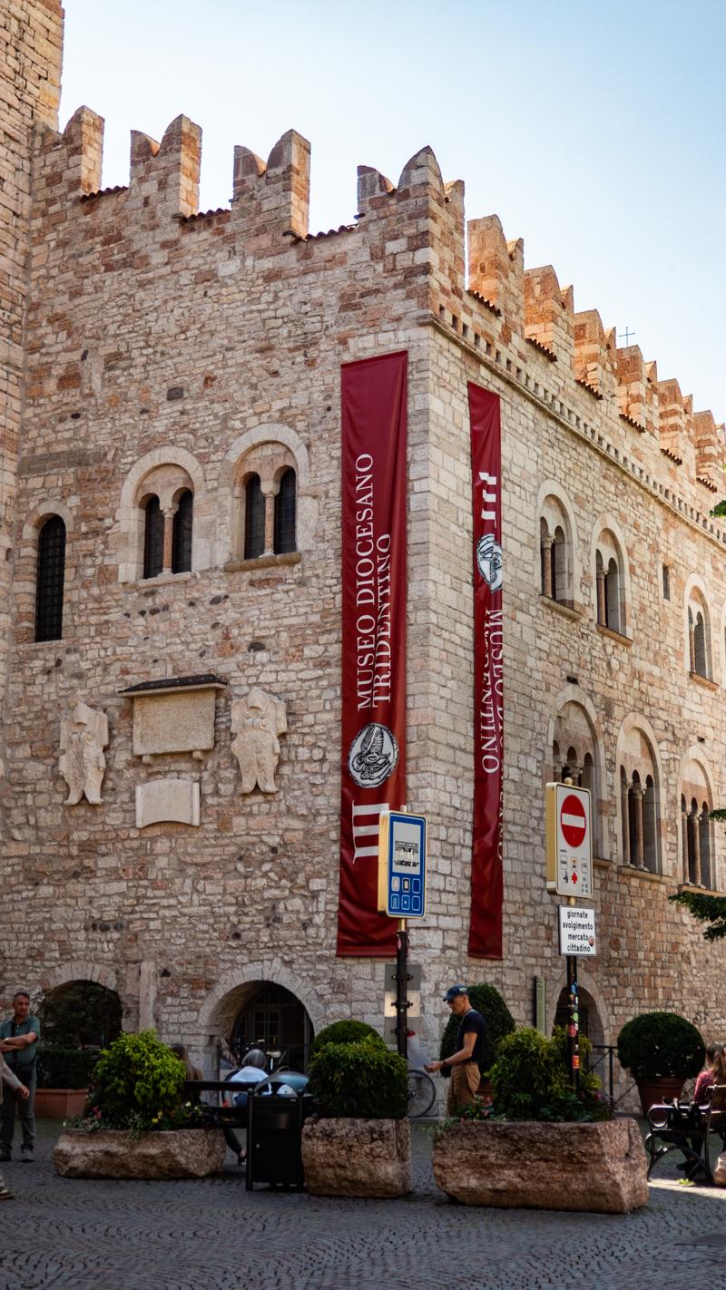 Museo Diocesano Tridentino in Piazza Duomo, Trento in Italy