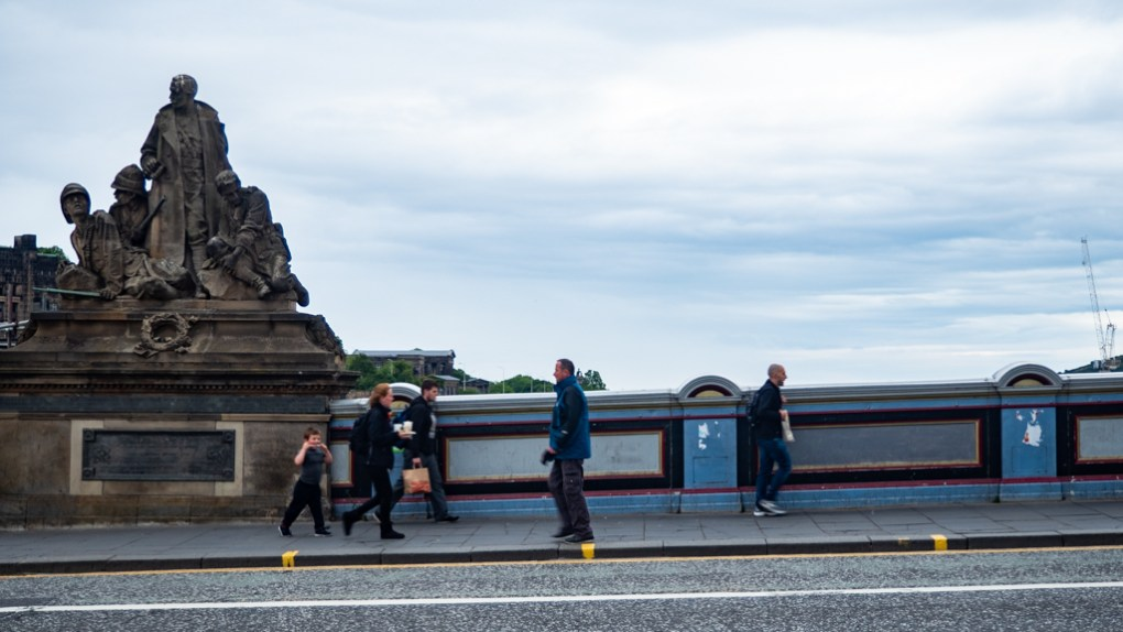 North Bridge in Edinburgh, UK which is a One Day Filming Location