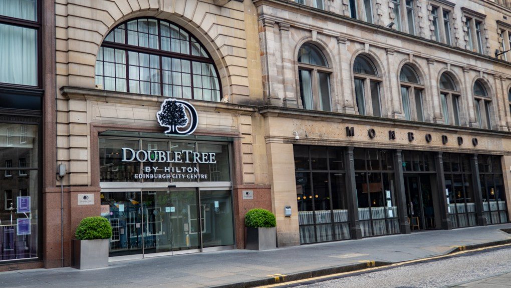 DoubleTree by Hilton Hotel Edinburgh City Centre, a Sunshine on Leith filming location