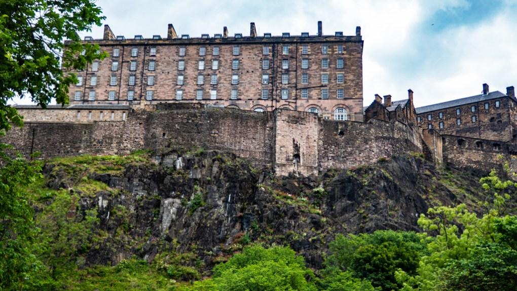 Edinburgh Castle, a Sunshine on Leith filming location