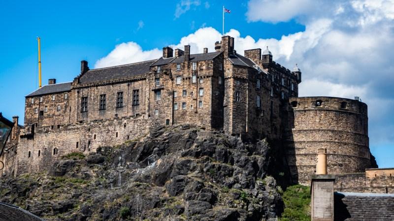 Edinburgh Castle, a Filth Filming Location