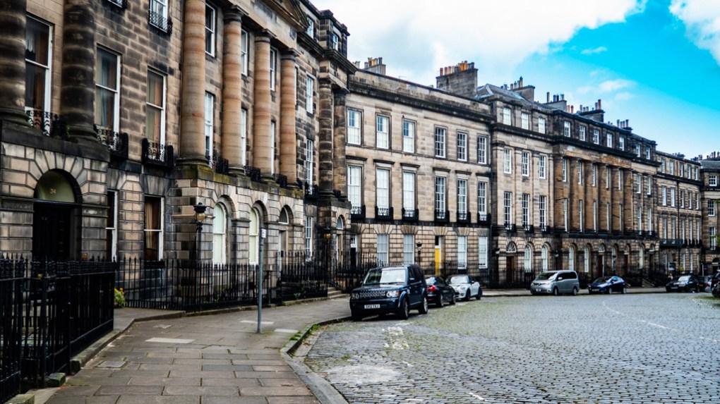 Moray Place in Edinburgh, UK