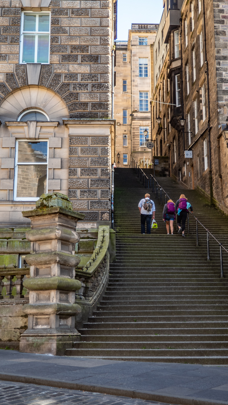 Warriston's Close in Edinburgh, UK which is a One Day Filming Location