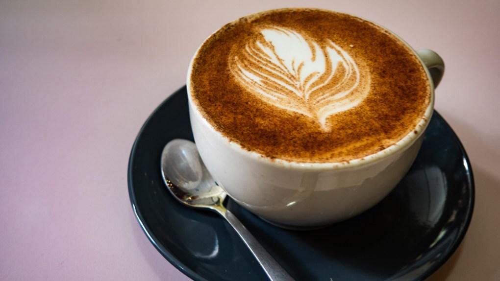 Tumeric latte from Hula Juice Bar in Edinburgh