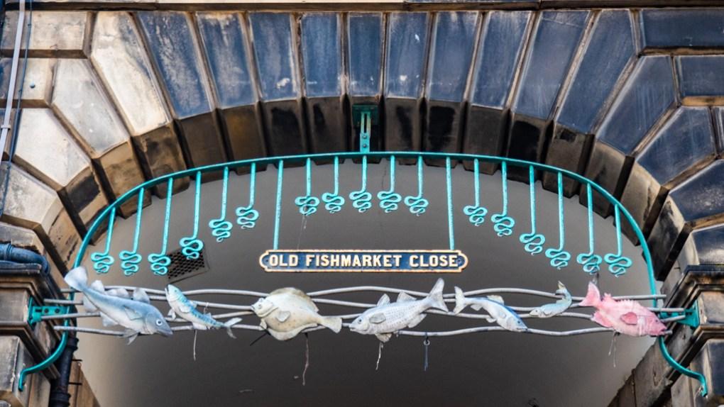 Old Fishmarket Close in Edinburgh   3 Days in Edinburgh