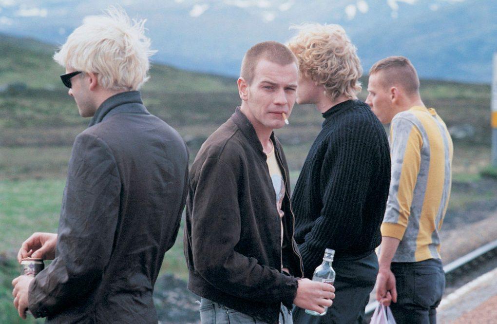Trainspotting, one of the top films set in Edinburgh