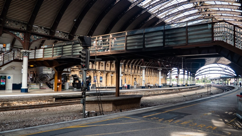 Bridge at York Train Station, a Harry Potter Filming Location