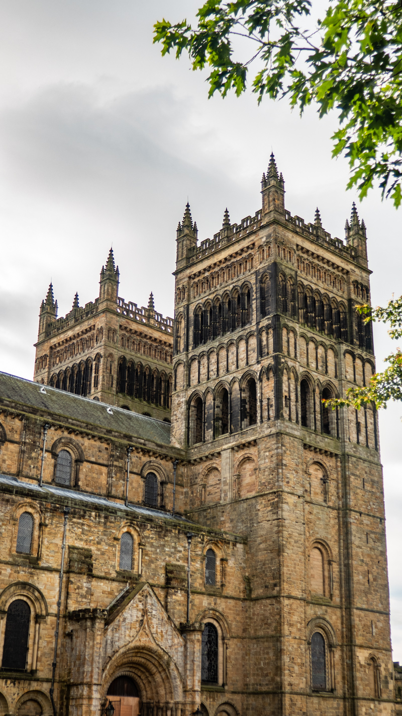 Outside Durham Cathedral