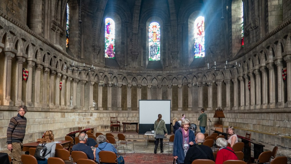 The Chapter House at Durham Cathedral, a Harry Potter Filming Location in North East England