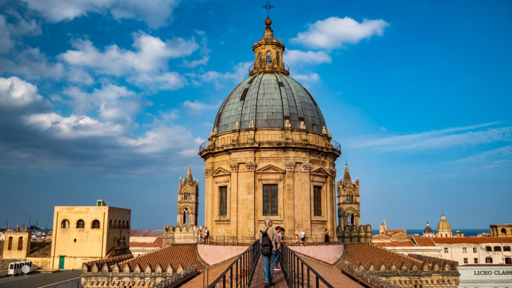Roof of Palermo Cathedral in Palermo, Sicily | 48 Hours in Palermo, Sicily Travel Guide