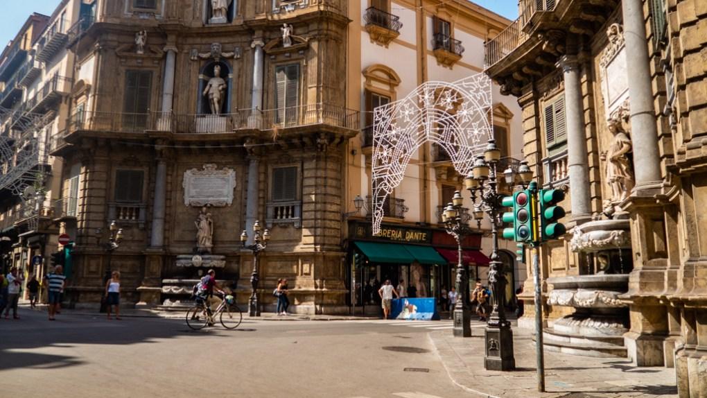 Quattro Canti in Palermo, Sicily