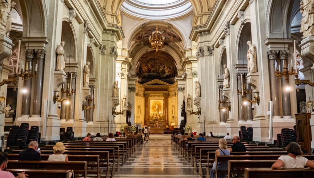Inside Palermo Cathedral in Palermo, Sicily | 48 Hours in Palermo, Sicily Travel Guide