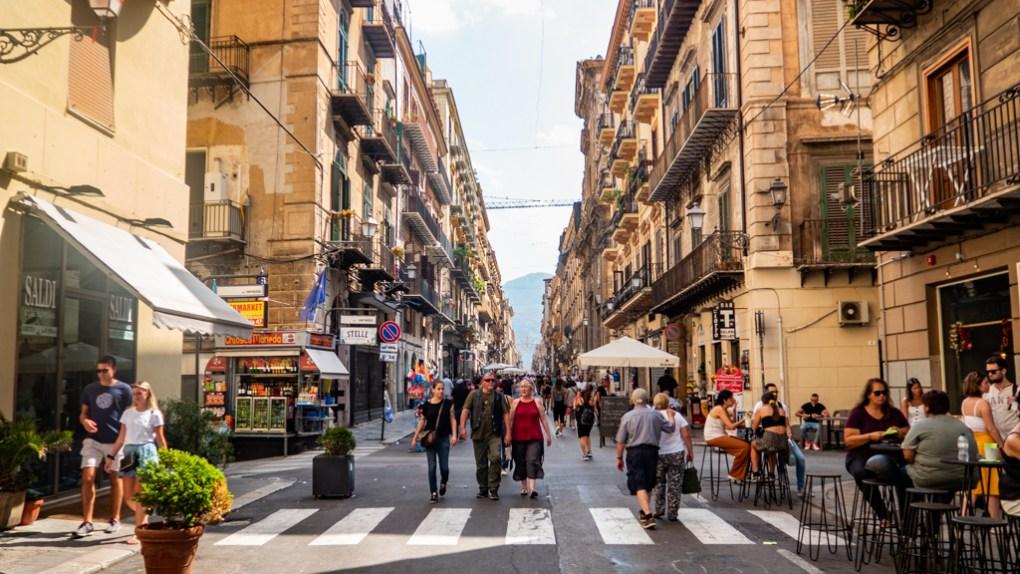 Via Maqueda in Palermo, Sicily