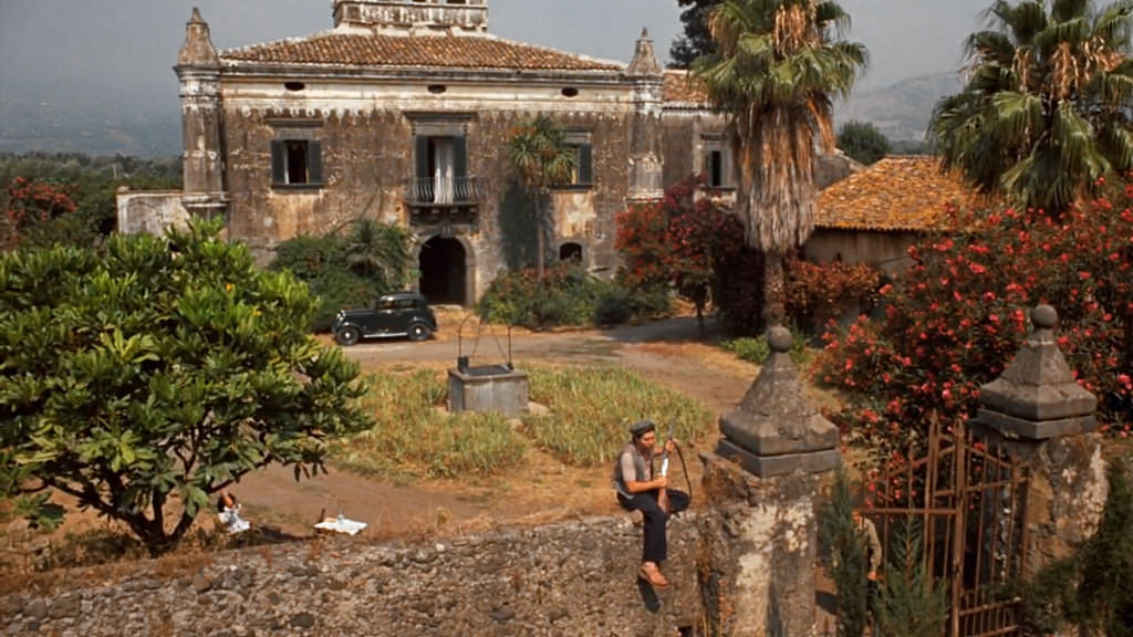 Castello Degli Schiavi,one of The Godfather filming locations in Sicily