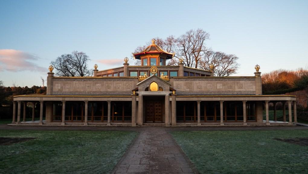Manjushri Buddhist Centre in the Lake District, UK