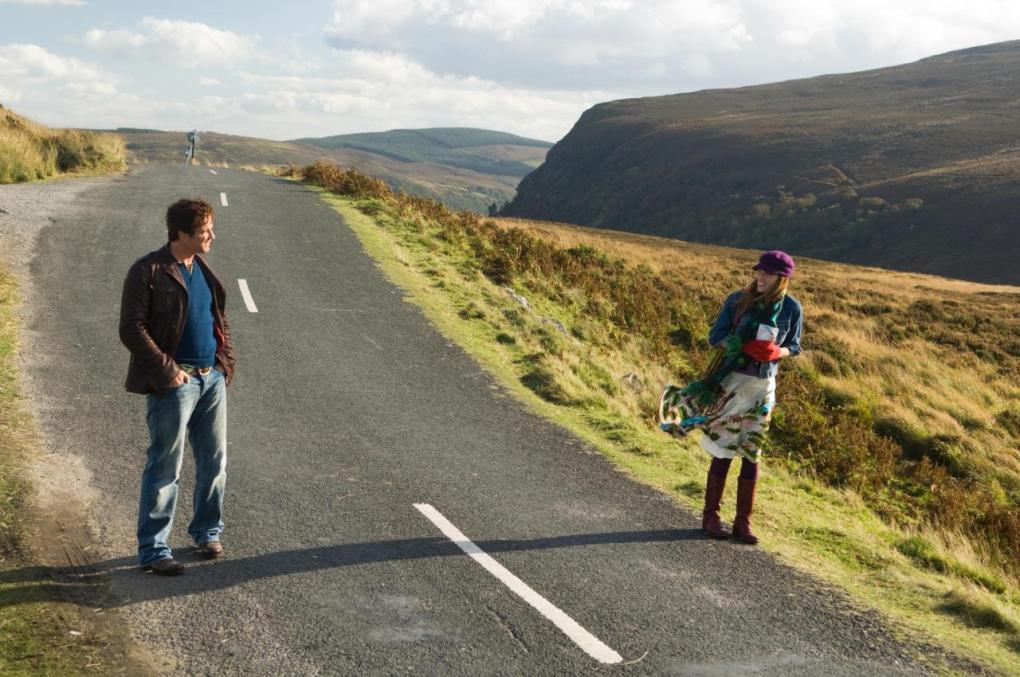 Gerry and Holly in the Wicklow Mountains National Park, Ireland | P.S. I Love You Filming Locations