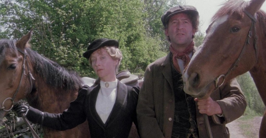 Film still from On The Black Hill, a film set in Wales, UK