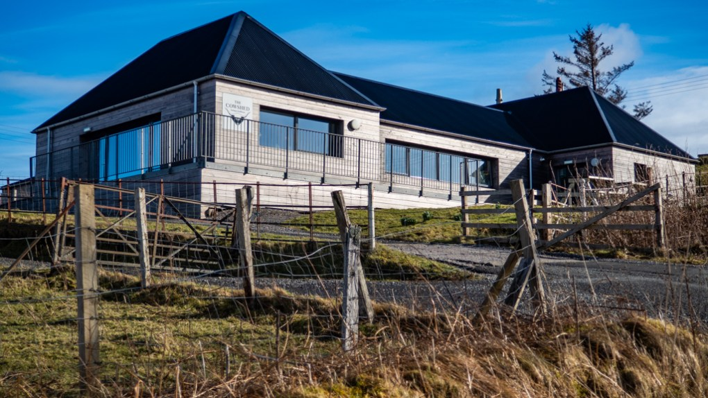 The Cowshed Bunkhouse Hostel in Uig on the Isle of Skye, Scotland