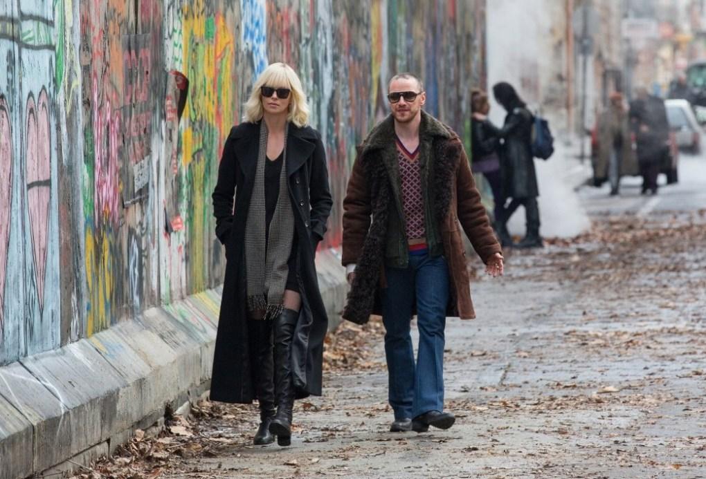 Atomic Blonde film still, a film set in Berlin, Germany