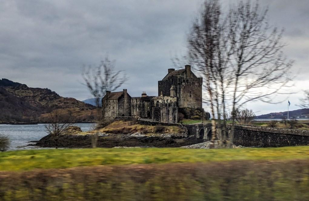 Eilean Donan Castle in Kyle of Lochalsh in Scotland