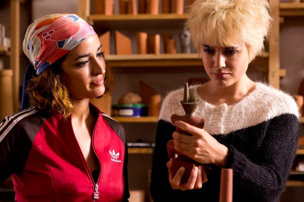 Film still from Julieta, a film set in Spain