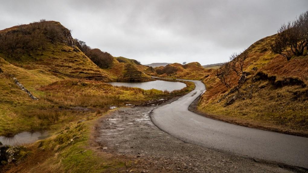 The Fairy Glen in Uig on the Isle of Skye, Scotland