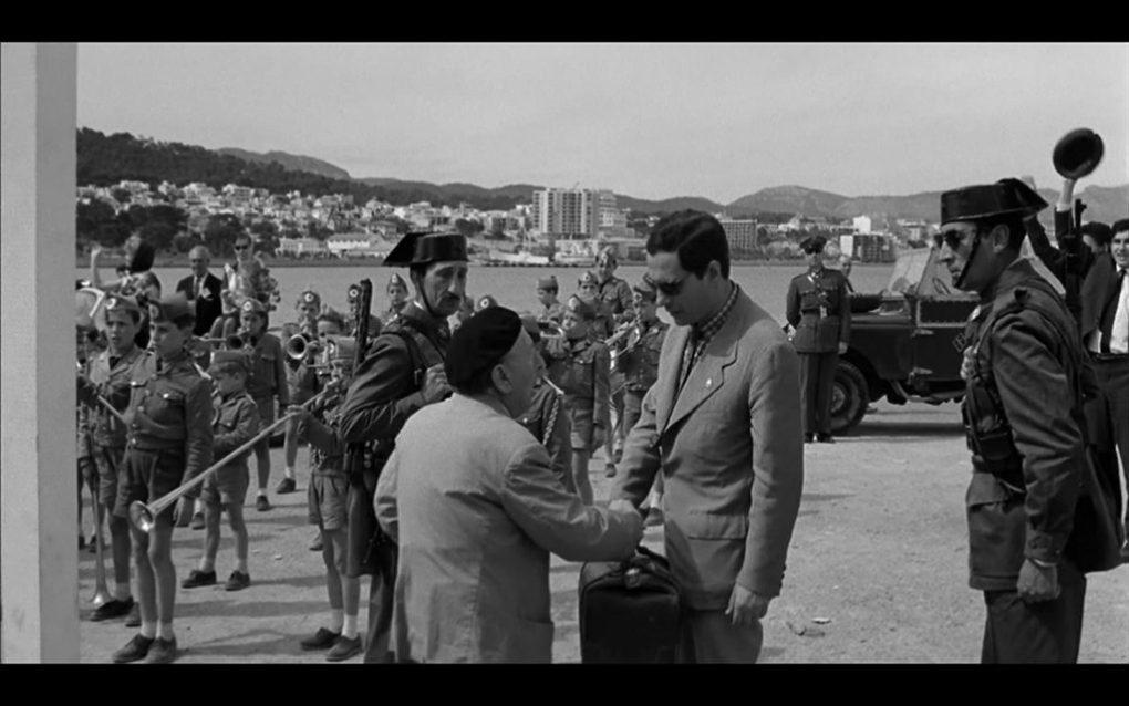 Film still from The Executioner, a film set in Spain