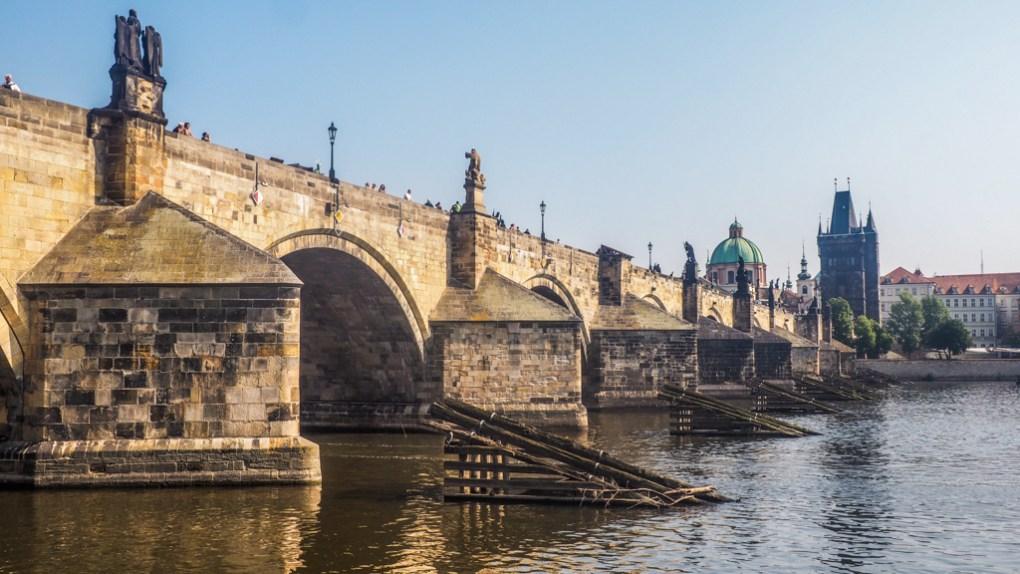 Charles Bridge in Prague, Czechia Spider-Man: Far From Home Location