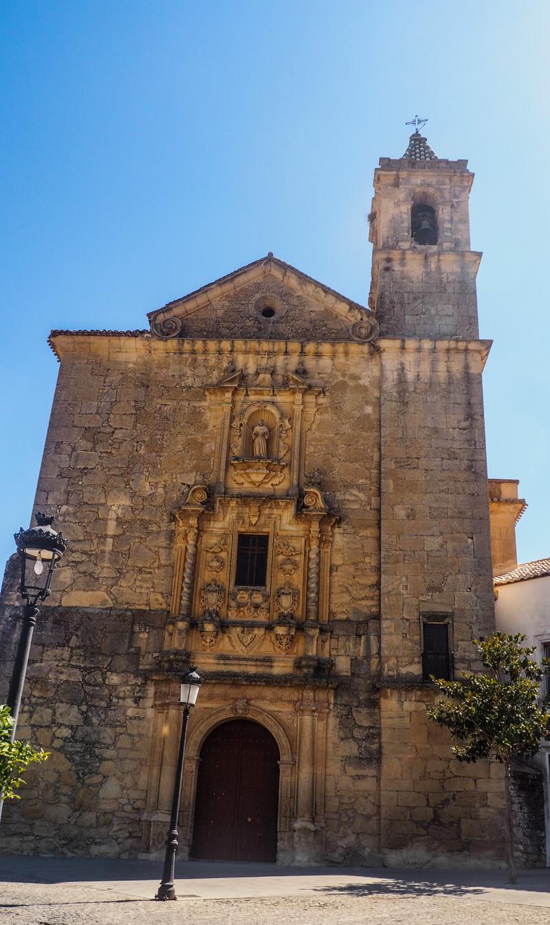 Convento De San Antonio in Montefrío in Andalucía, Spain