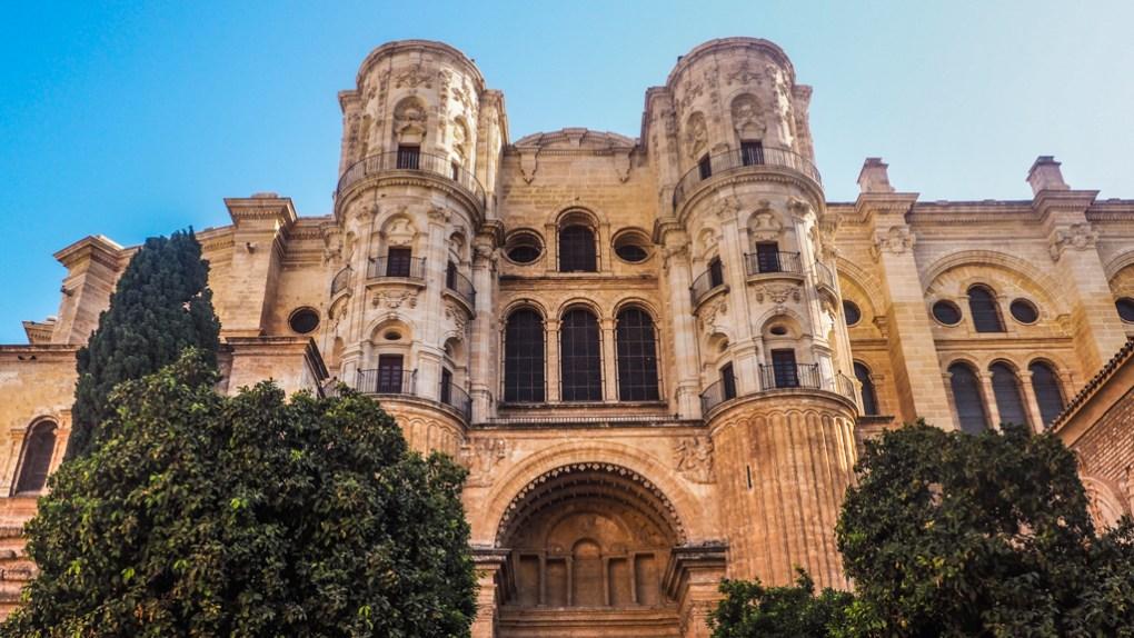 Catedral de la Encarnación de Málaga exterior in Málaga, Spain