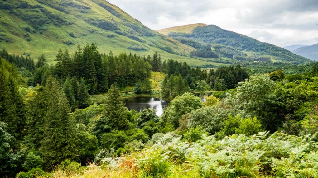 Clachaig Gully near Glen Coe, a Harry Potter Filming Location in Scotland