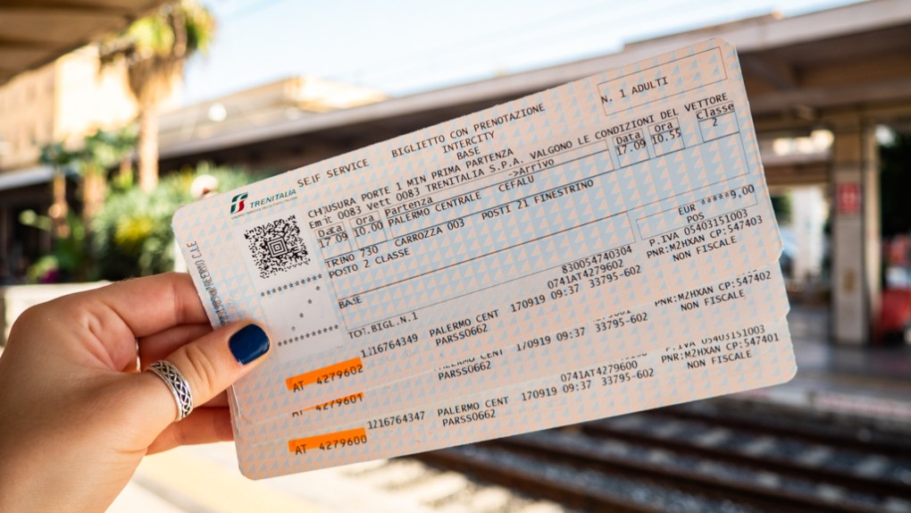Train tickets from Palermo to Cefalù, Sicily at Palermo Centrale Station
