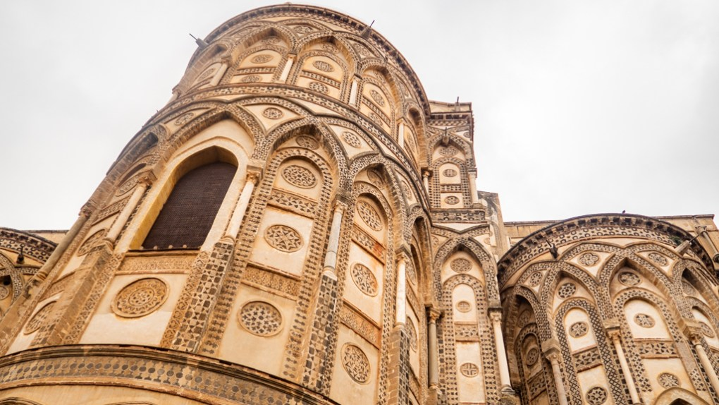 Monreale Cathedral in Monreale, Palermo