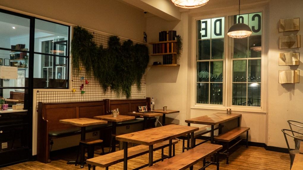 Kitchen at CoDE Hostel - The Court in Edinburgh, Scotland