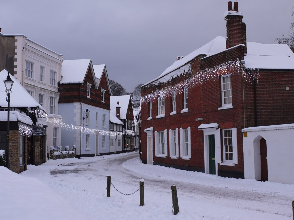 Church Street in Godalming, Surrey The Holiday Filming Location in England