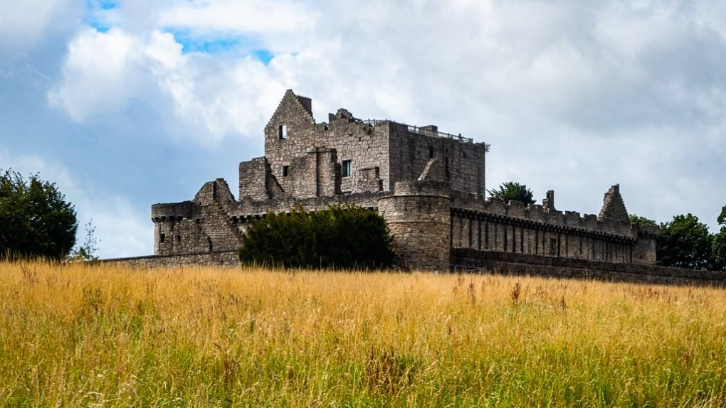 Craigmillar Castle in Edinburgh, Scotland Outlaw King Filming Location