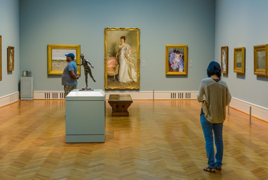 Iconic Filming Location Art Institute of Chicago in Illinois, USA